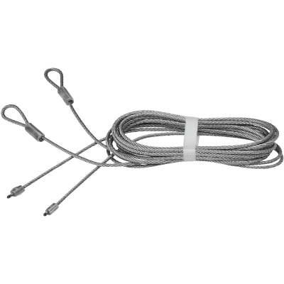 National 8 Ft. 8 In. L. x 1/8 In. Dia. Steel Garage Door Torsion Cable