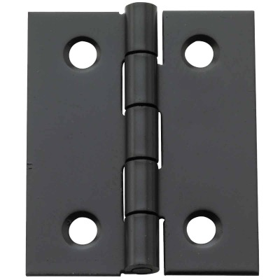 National 1-1/2 In. X 1-1/4 In. Oil Rubbed Bronze Broad Hinge (2-Pack)