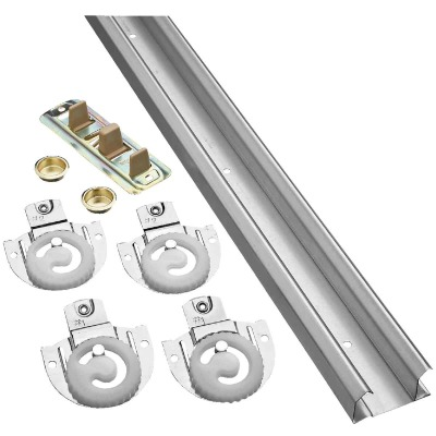 National 60 In. Bypass Door Hardware