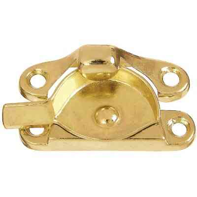 National Bright Brass 7/8 In. Crescent Sash Lock