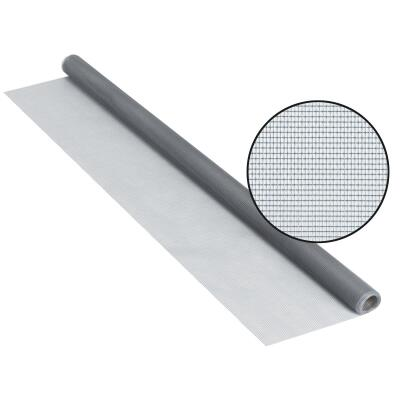 Phifer 24 In. x 84 In. Gray Fiberglass Screen Cloth Ready Rolls