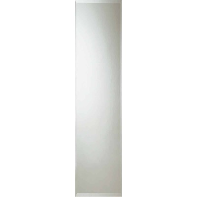 Erias Home Designs 16 In. W. X 60 In. H. Frameless Beveled Edge Door Mirror