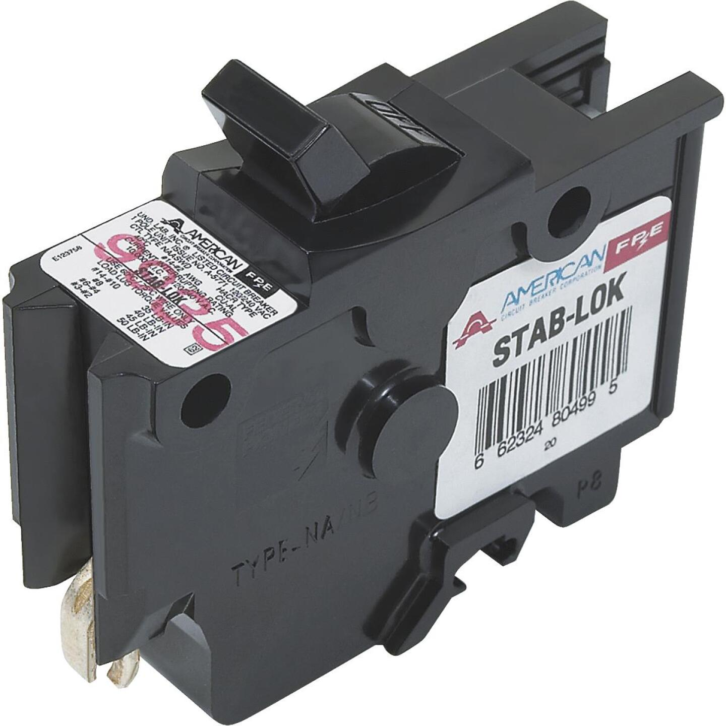 Connecticut Electric 50A Single-Pole Standard Trip Packaged Replacement Circuit Breaker For Federal Pacific Image 1
