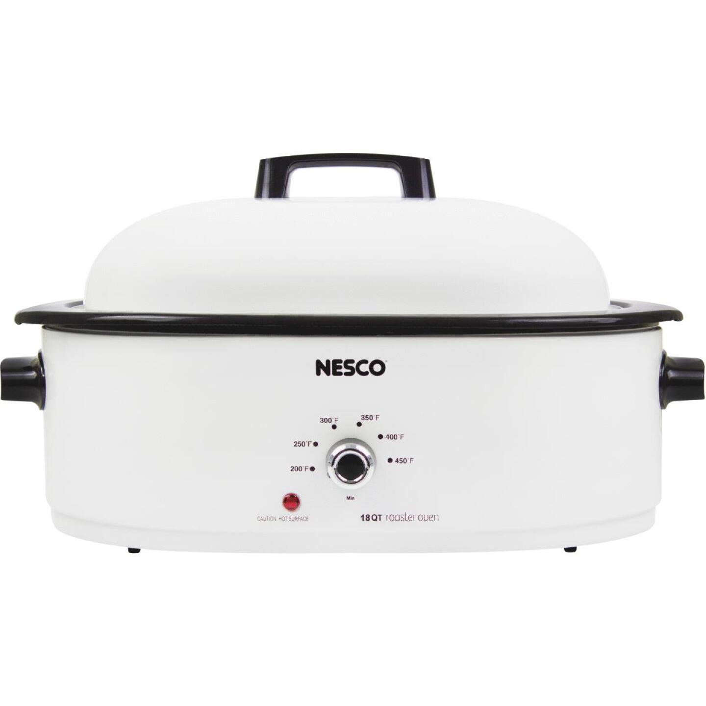 Nesco 18 Qt. Ivory Electric Roaster Image 1