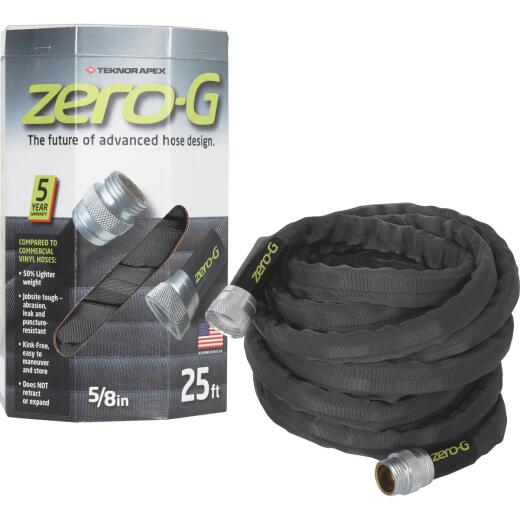 Apex Zero-G 5/8 In. Dia. x 25 Ft. L. Drinking Water Safe Garden Hose