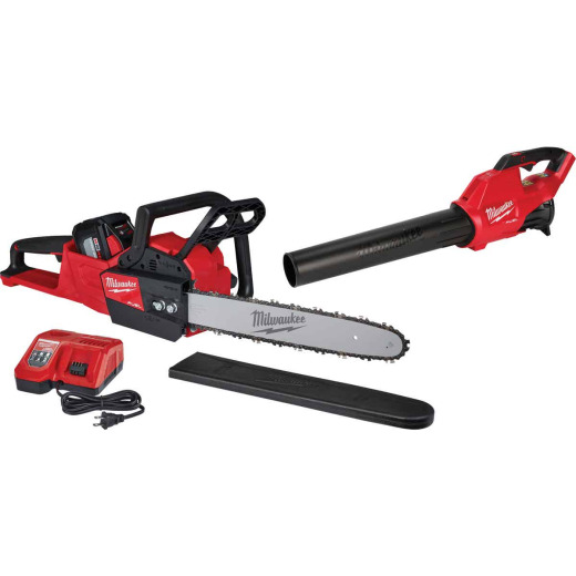 Milwaukee M18 Fuel 16 In. 18V Chainsaw & Blower Kit