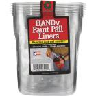 HANDy 1 Qt. Clear Paint Pail Liner (6-Pack) Image 2