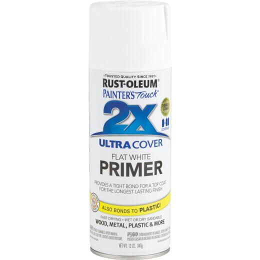 Rustoleum Painter's Touch 2X Ultra Cover White Spray Paint Primer